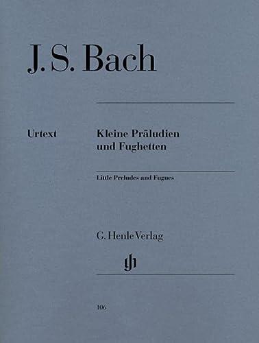 Kleine Präludien und Fughetten (Paperback): Johann Sebastian Bach