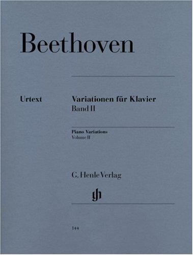 Variationen für Klavier 2: Ludwig van Beethoven