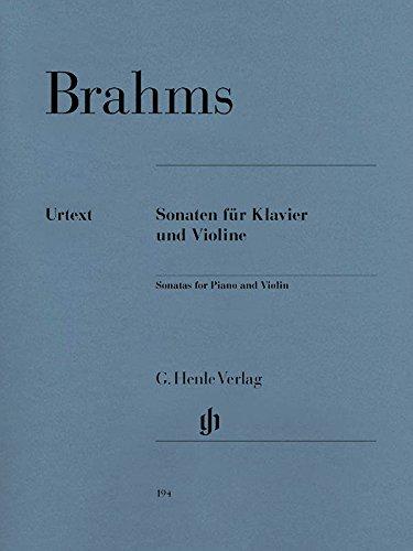 Sonaten für Klavier und Violine: Johannes Brahms