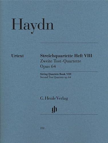 Streichquartette Heft VIII op. 64: Joseph Haydn