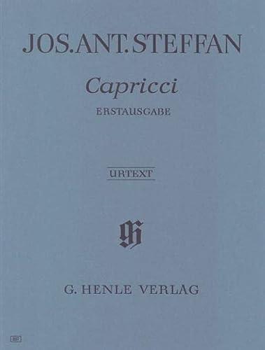5 Capricci (Erstausgabe): Joseph Anton Steffan