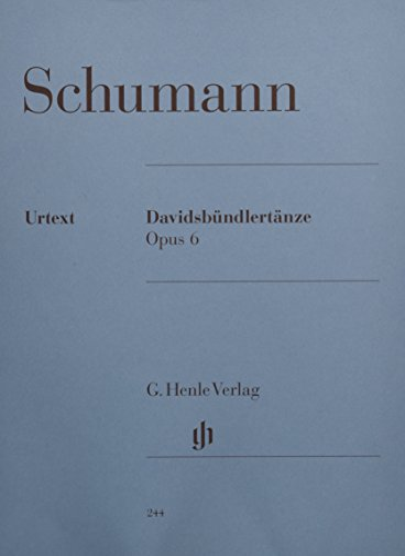 Davidsbündler Tänze op.6 :für Klavier: Robert Schumann