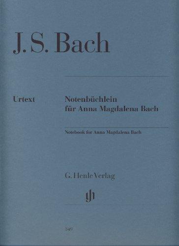 Petit Livre pour Anna Magdalena Bach -: Johann Sebastian Bach