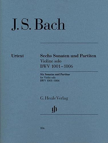 Bach 6 Sonatas & Partitas Urtext Violin: Bach, JS