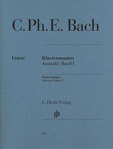 Klaviersonaten, Auswahl, Band I: Carl Philipp Emanuel