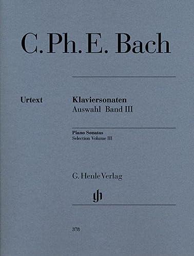 Klaviersonaten, Auswahl, Band III: Carl Philipp Emanuel