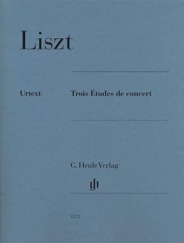 Franz Liszt: Trois Etudes De Concert (Urtext: Liszt, Franz (Composer);