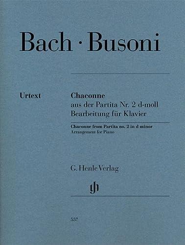 9790201805573: Chaconne aus der Partita Nr. 2 d-moll BWV 1004: Bearbeitung für Klavier