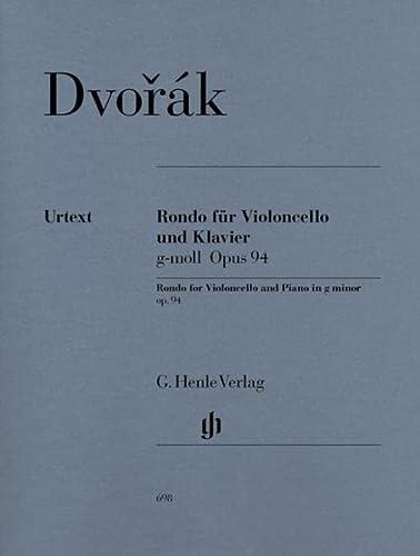 Rondo für Violoncello und Klavier g-moll op. 94: Antonín Dvorák