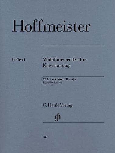 Violakonzert D-dur (Paperback): Franz Anton Hoffmeister