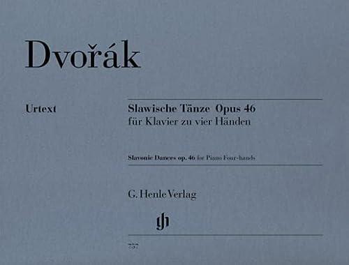 Slawische Tänze op. 46. Klavier zu 4: Antonín Dvorák; Hrsg.: