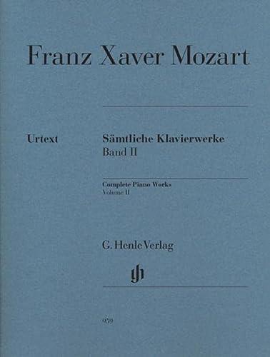 Toutes les Oeuvres pour Piano, Volume 2: Mozart Franz Xaver