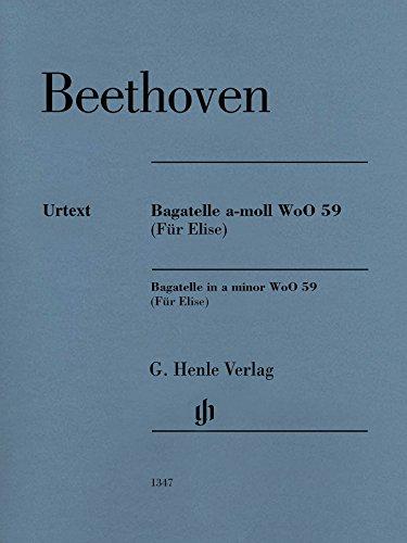 Klavierstück a-moll WoO 59 (Für Elise): van Beethoven, Ludwig