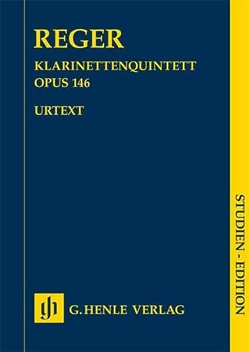 Quintett A-Dur op.146 :für Klarinette, 2 Violinen, Viola und Violoncello: Max Reger