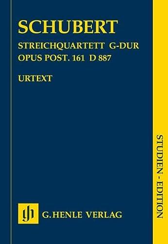 Streichquartett G-dur op. post. 161 D 887: Schubert, Franz