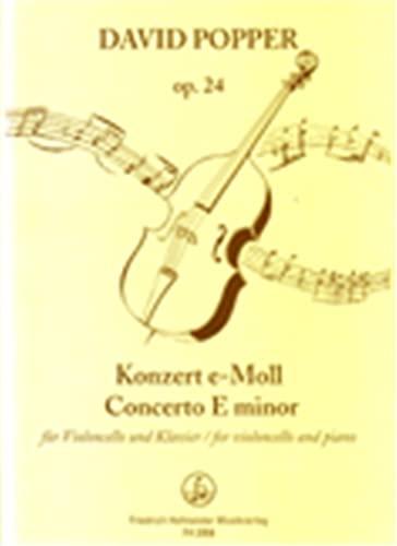 Konzert e-Moll op.24 fürVioloncello und Orchester :: David Popper
