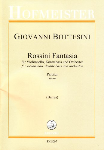Rossini Fantasia. Partitur: Giovanni Bottesini
