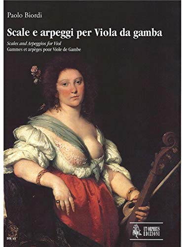 Scale e arpeggi per viola dagamba: Paolo Biordi