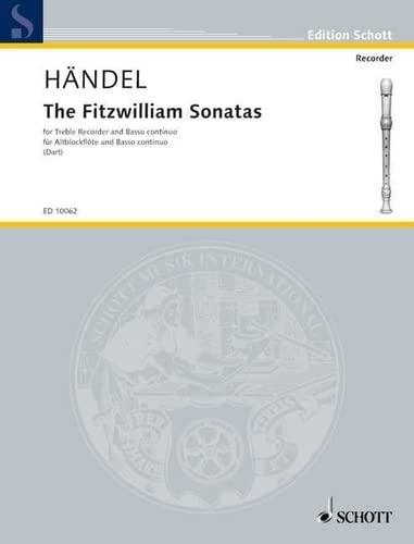 Fitzwilliam Sonatas : for treblerecorder and piano or harpsichord: Georg Friedrich H�ndel