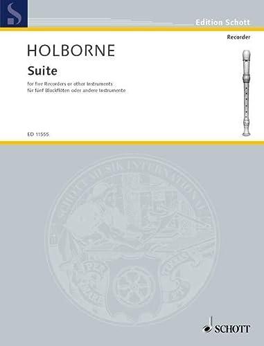 Suite 5bfl.: Anthony Holborne