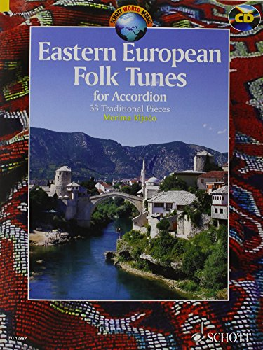 Eastern European Folk Tunes (+CD) :for accordion