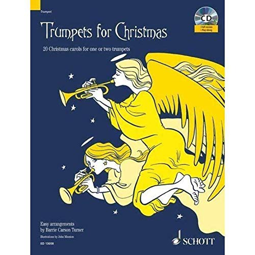 Trumpets for Christmas (+CD) :20 Christmas Carols for 1-2 trumpets