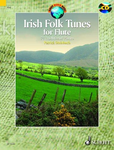 Irish Folk Tunes (+CD) : for flute