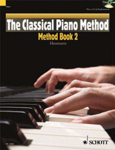 The classical Piano Method -Method Book vol.2 (+CD) : for piano: Hans-G�nter Heumann