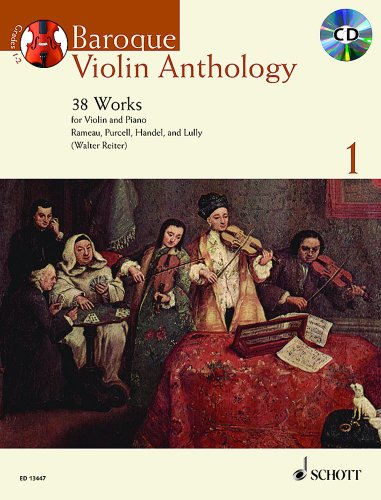 Baroque Violin Anthology vol.1 (+CD) :for violin and piano