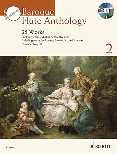 Baroque Flute Anthology vol.2 (+CD) :for flute and piano