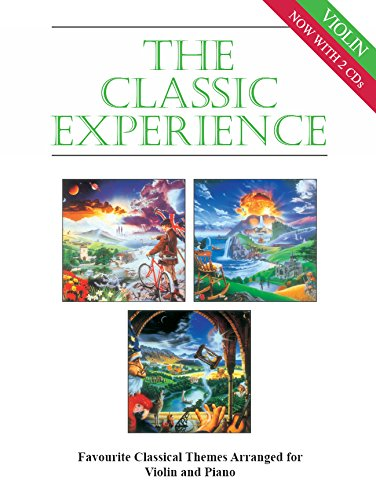 The Classic Experience (+2 CD's) :for violin and piano