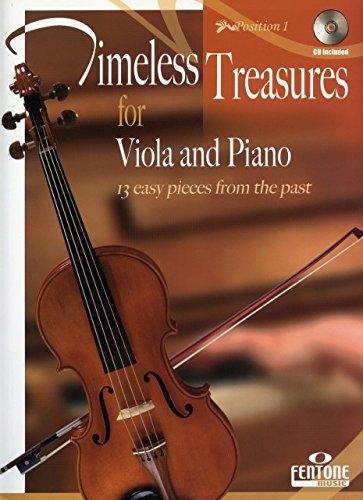 Timeless Treasures (+CD) :für Viola und Klavier