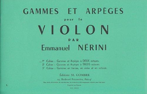 Gammes et Arpeges Vol.1 (a 2 Octaves): Nerini Emile