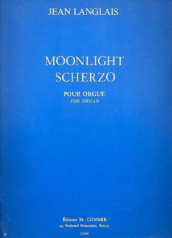 Moonlight scherzo : pour orgue: Jean Langlais