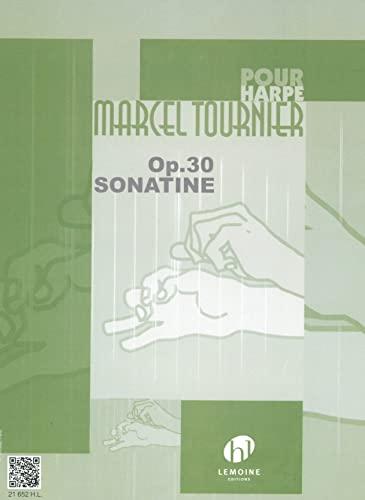 Sonate no.1 : pour harpe: Marcel Tournier
