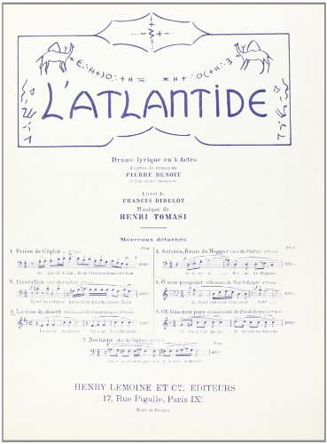 9790230936316: Atlantide