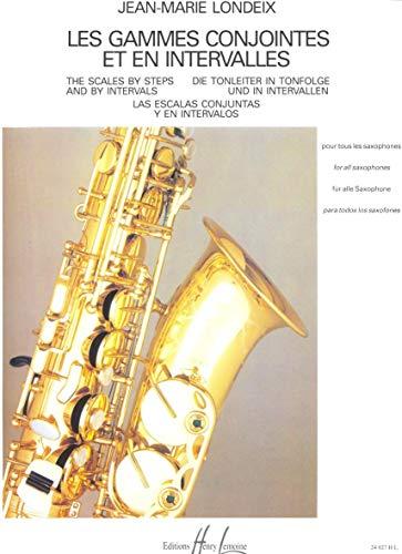 9790230940276: Les Gammes Conjointes et en Intervalles (French Edition)
