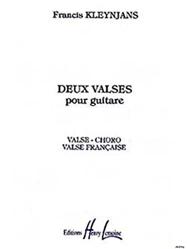 2 valses op.64 : pour guitare: Francis Kleynjans