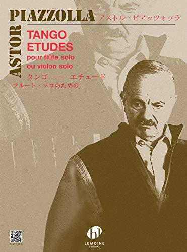 Tango etudes : pour flûte (violon): Astor Piazzolla