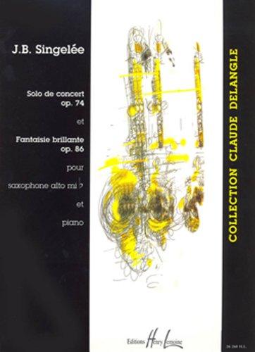 9790230962605: Solo de concert Op.74 - Fantaisie Brillante Op.86 (French Edition)