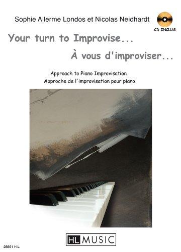 À vous d'improviser (+CD) : pour piano(en/frz): Sophie Allerme Lodos