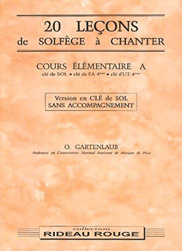 9790231102499: 20 Lecons Cours El.a Sol