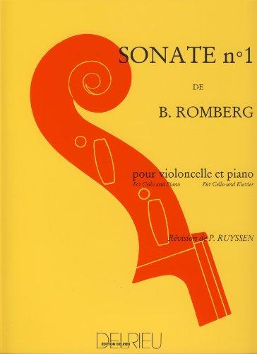 Sonate no.1 premier mouvement :pour violoncellet et piano: Bernhard Heinrich Romberg