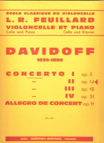 9790231705867 Concerto N2 Op14 En La Min Violoncelle Et Piano