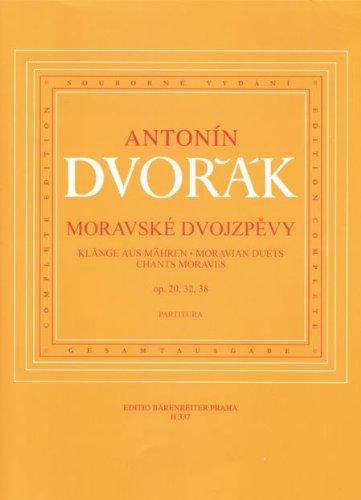 Klänge aus Mähren : für Sopran,Alt uind Klavier (ts/dt/en): Antonin Dvorak