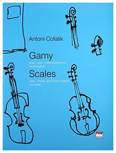 Scales : for violin: Antoni Cofalik