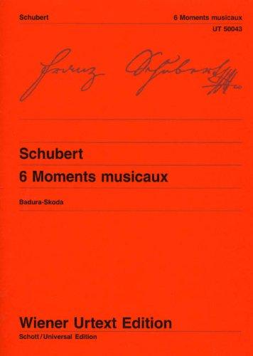 6 Moments musicaux: Franz Schubert
