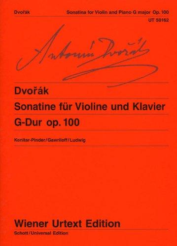 Sonatine G-Dur: Anton�n Dvor�k