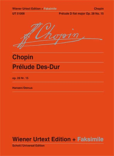 Prélude Des-Dur: Fr�d�ric Chopin