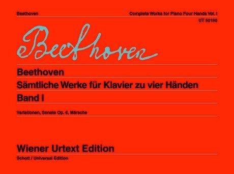 Sämtliche Werke für Klavier zu vier Händen: Ludwig van Beethoven